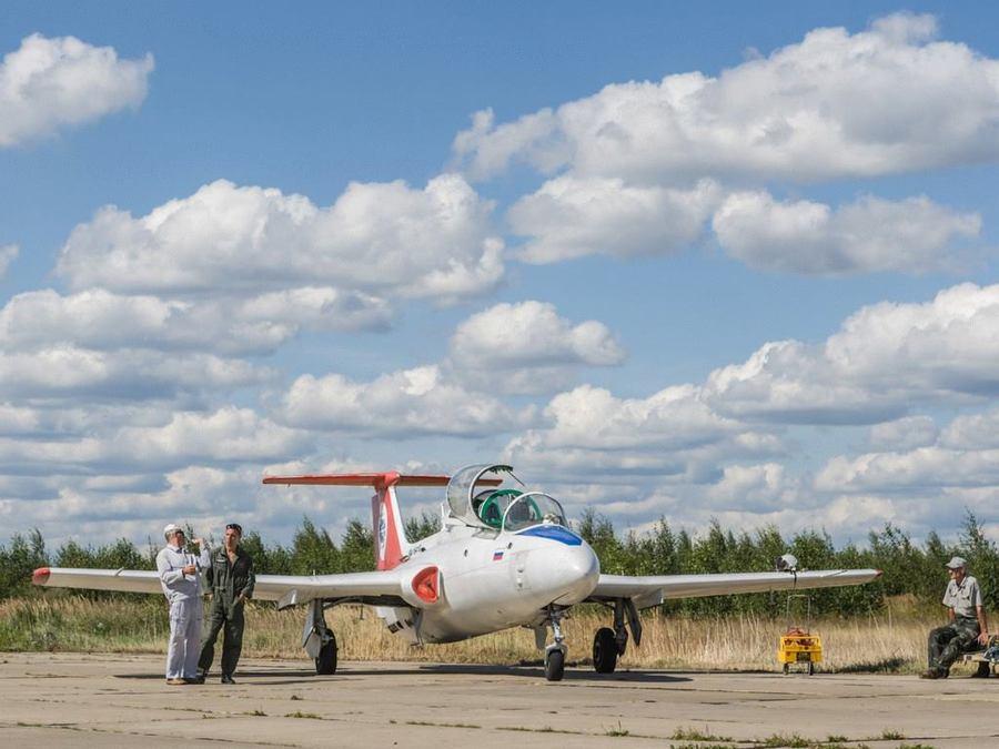 Полёт на л-29 в подарок 74